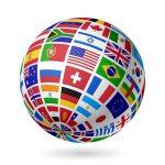 globo banderas